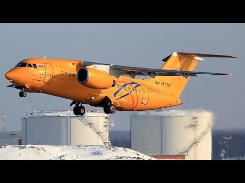 """Antonov AN-148 caiu """"como uma folha morta"""""""