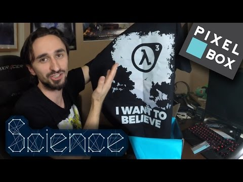 Pixel-Box - Science (Kwiecień 2017) [UNBOXING]