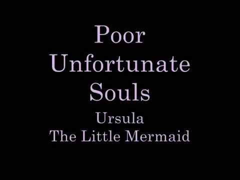 Poor Unfortunate Souls Lyrics