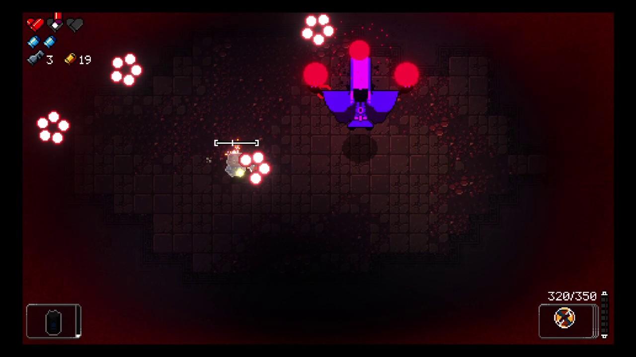 Enter the Gungeon : Shadow Magician ( hidden boss ) Marine floor 2 ...