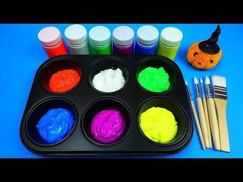 learn colors with neon paint Pokemon toys