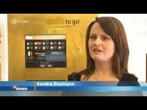 Zdf Wiso Bankshop Gold Als Geldanlage Goldautomat