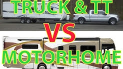 Travel Trailer VS Motorhome - at 36 minutes switches to Motorhomes