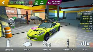 Nice gearbox setting to reach the top speed -NO HACK #carparkingmultiplayer #gearboxsetting