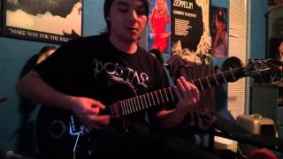 Slayer Evil Has No Boundaries COVER, SOLOS INCLUDED