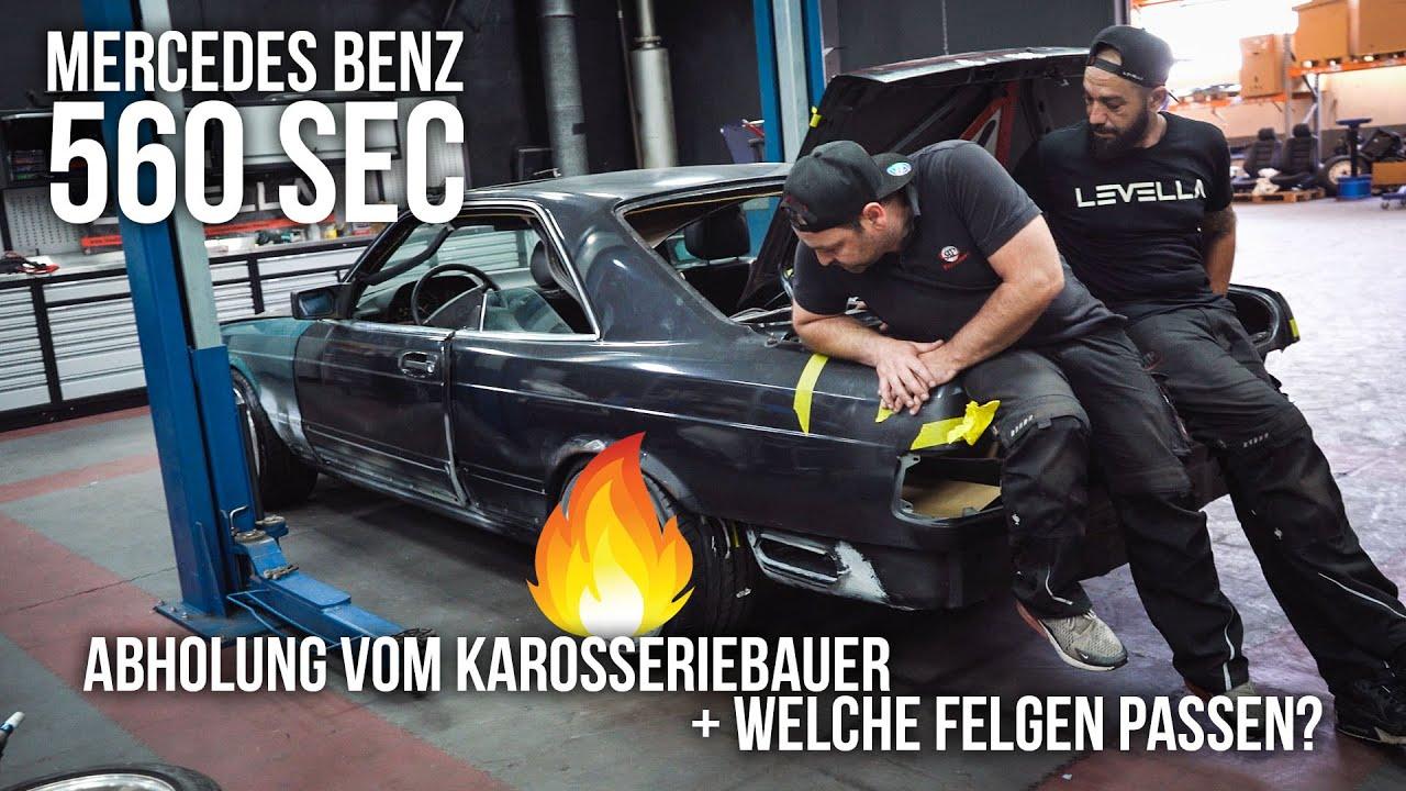 LEVELLA | Mercedes Benz C126 560 SEC - Abholung vom Karosseriebauer + Welche Felgen passen?