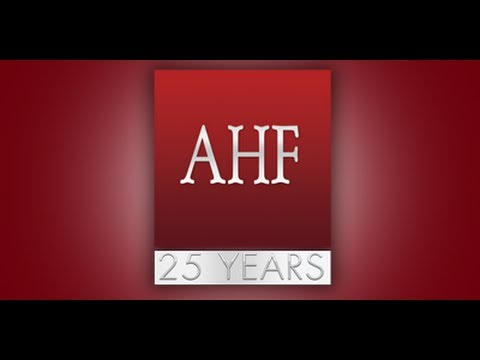 AHF Celebrates 25