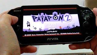 PS Vita - Patapon 2 Gameplay
