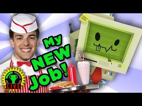 Working My NEW JOB with Astronaut Abby! | Job Simulator