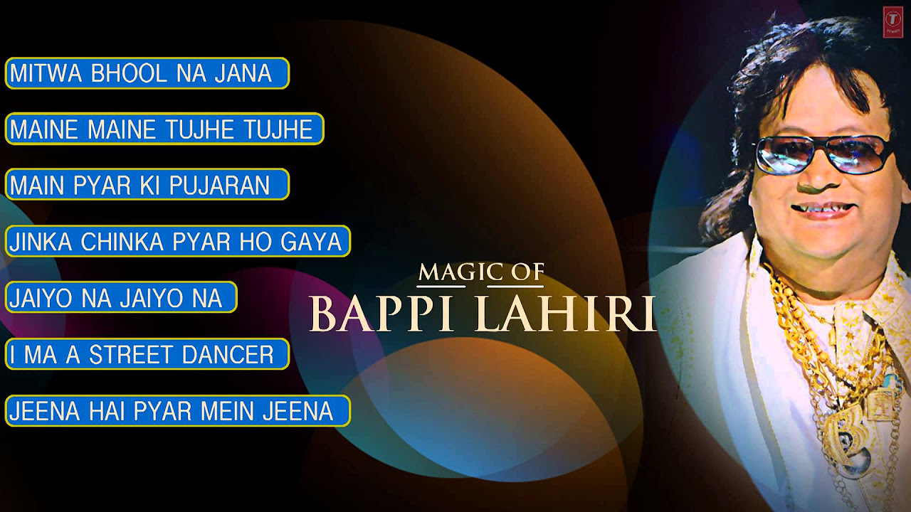 "Magic of ""Bappi Lahiri"" Superhit Bollywood Songs 