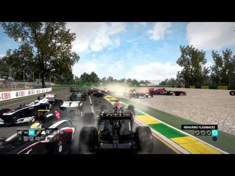 Formula 1 2013 Game - Crash Compilation #1