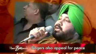 Daler Mehndi sings for Peace