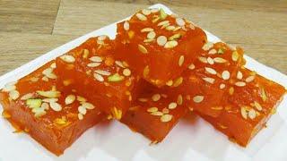 Bombay Karachi Halwa/Karachi Halwa /Cornflour Halwa recipe / how to make Bombay Karachi Halwa