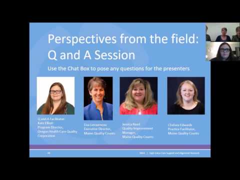 NRHI SAN: QI Module 1 Section 5 Perspectives from the field