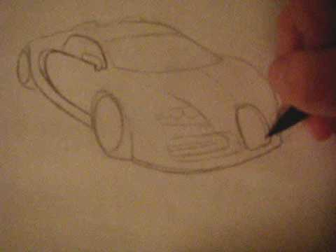 How To Draw A Car Youtube