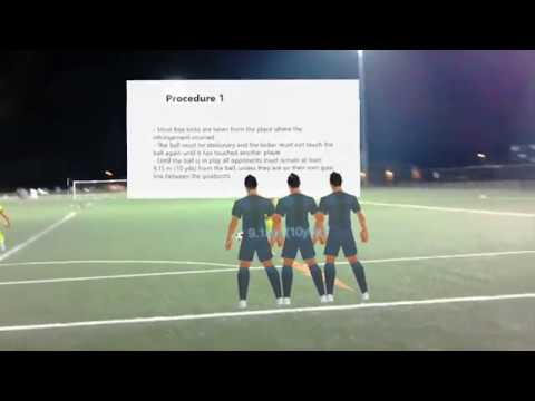 Soccer Training on HoloLens
