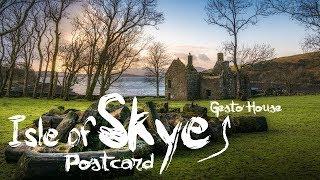 Skye Postcard - E7 - Gesto House, Loch Harport