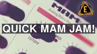 MAM MB33 Retro Bass - Quick MAM JAM!