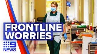 Coronavirus: Victorian frontline workers speak on their anxieties working | 9 News Australia
