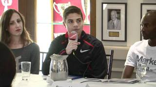 2012 Millrose Games Matthew Centrowitz Press Conference