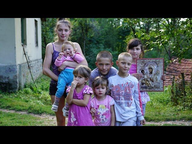 Pomoć porodici Lukić iz Gornjih Amajića - Srbi za Srbe