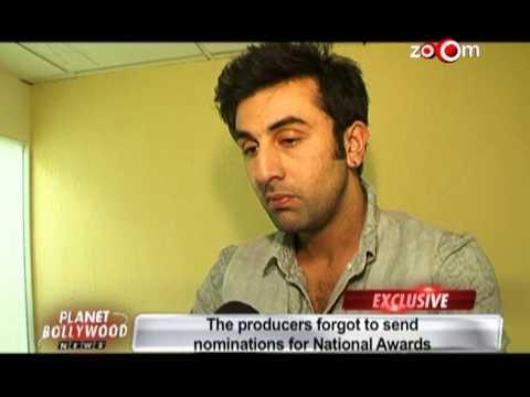 Ranbir reveals why Rockstar missed National Awards