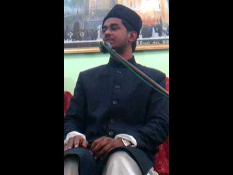 Ajre Risalat: Shabbir Abedi at Bargahe panjesha-e- Wilayat Ramzan 1434