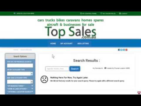 Top Sales - TopSales | My Account section