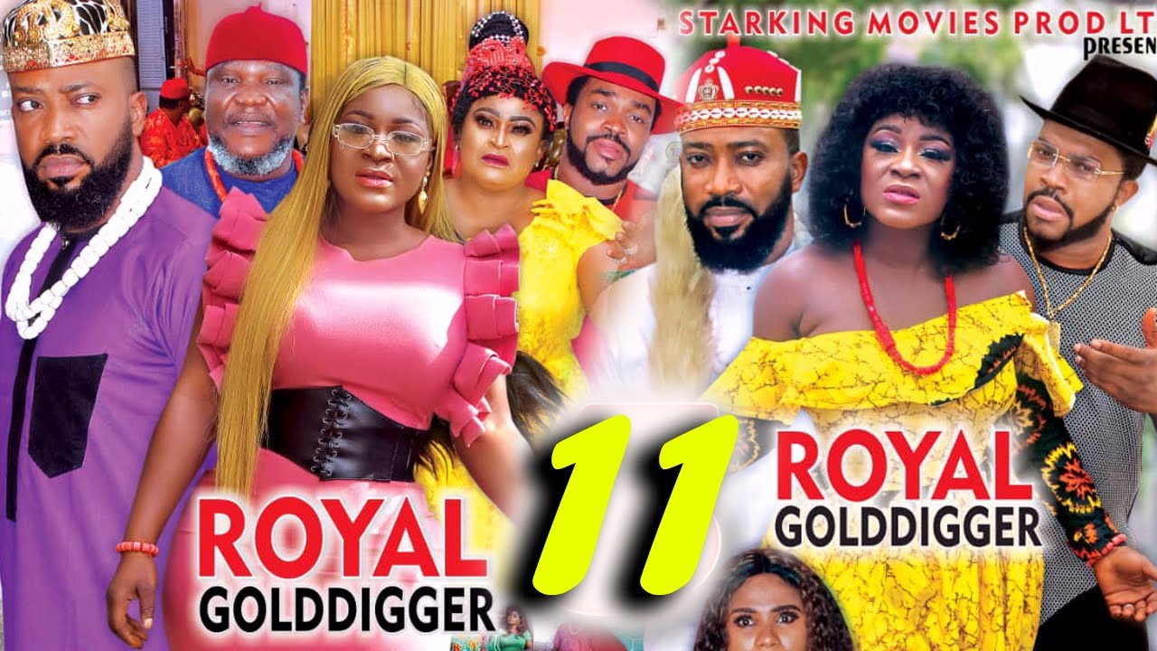 Download ROYAL GOLD DIGGER SEASON 11 - (New Movie)Fredrick Leonard 2021 Latest Nigerian Nollywood Movie 4K HD