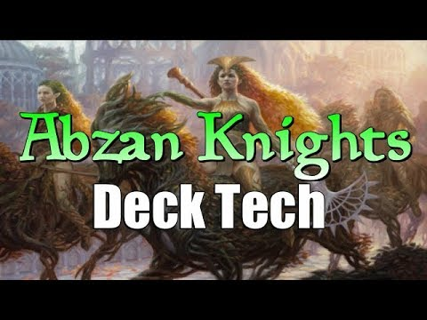 Mtg Deck Tech: Abzan Knights in Guilds of Ravnica Standard!