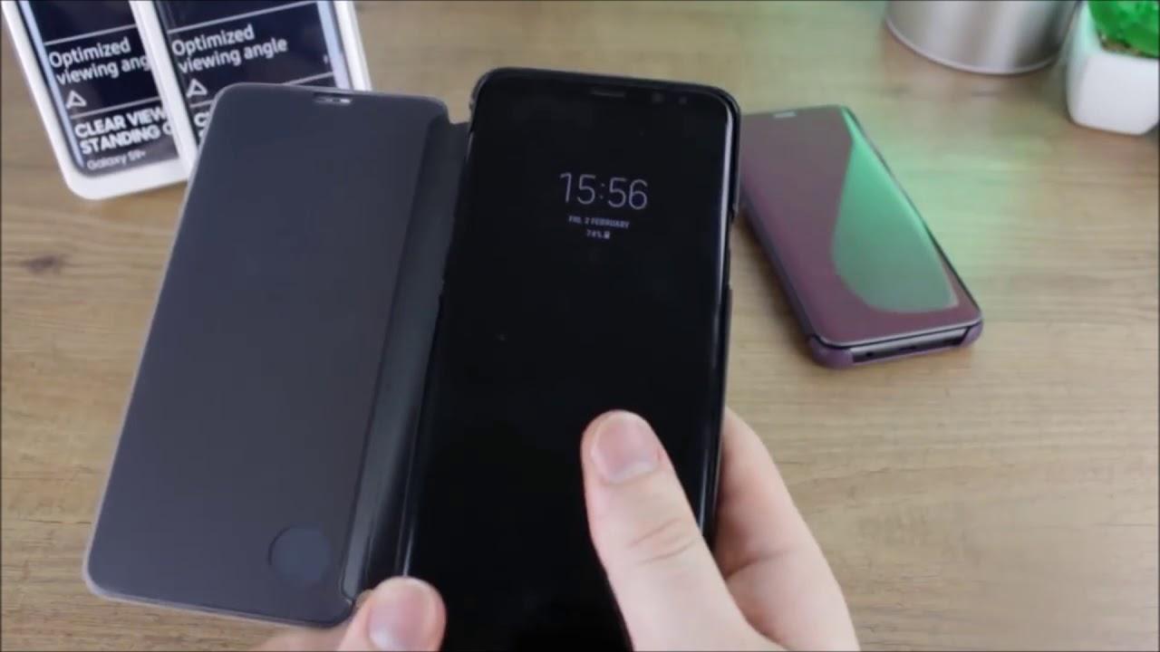 оригинальный чехол книжка для Samsung Galaxy S9 Youtube
