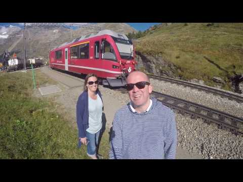 UK to Italy by Train including the Bernina Express