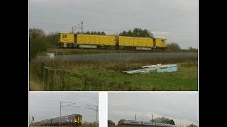 Half an Hour at (157) - Newton le Willows WCML - class 142 150 175 390 Stoneblower