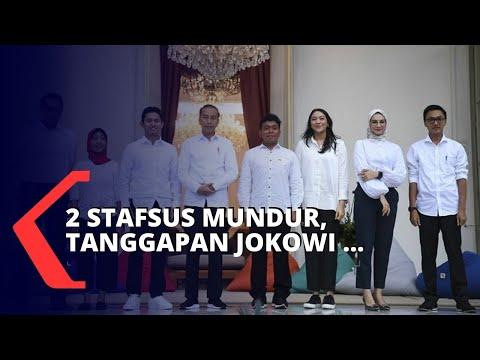 Tanggapan Jokowi Atas Mundurnya 2 Stafsus Milenial Presiden