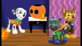 мультик игра, щенячий патруль на русском, Приключения в призрачном доме, Хэллоуин 3 , #PAW, щенки
