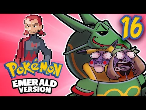 Pokemon Emerald - EP 16: Something About a Meteorite | SuperMega