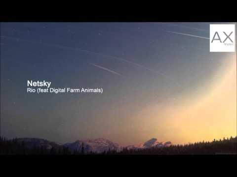Клип Netsky - Rio (feat. Digital Farm Animals)