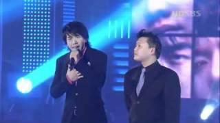 Lee Seung Gi ft. Psy - Because You are my woman @ 29.12.2004 SBS Gayo Daejun