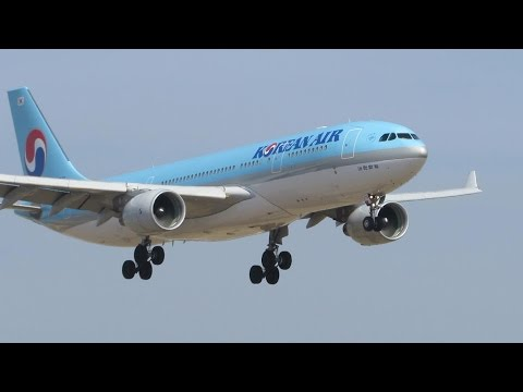 Close Up Afternoon Planespotting at Los Angeles Intl. Airport LAX - 25 mintues [Full HD]