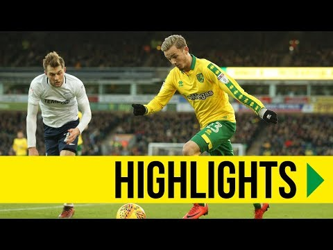 HIGHLIGHTS: Norwich City 1-1 Preston North End
