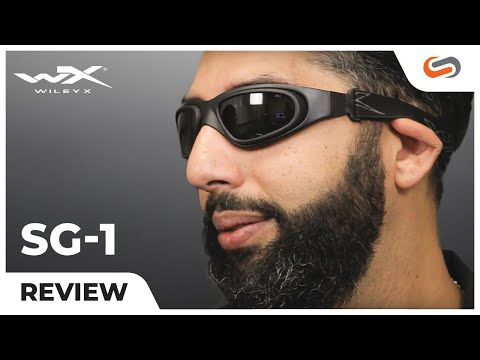 Wiley X SG-1 Tactical Goggles Review | SportRx