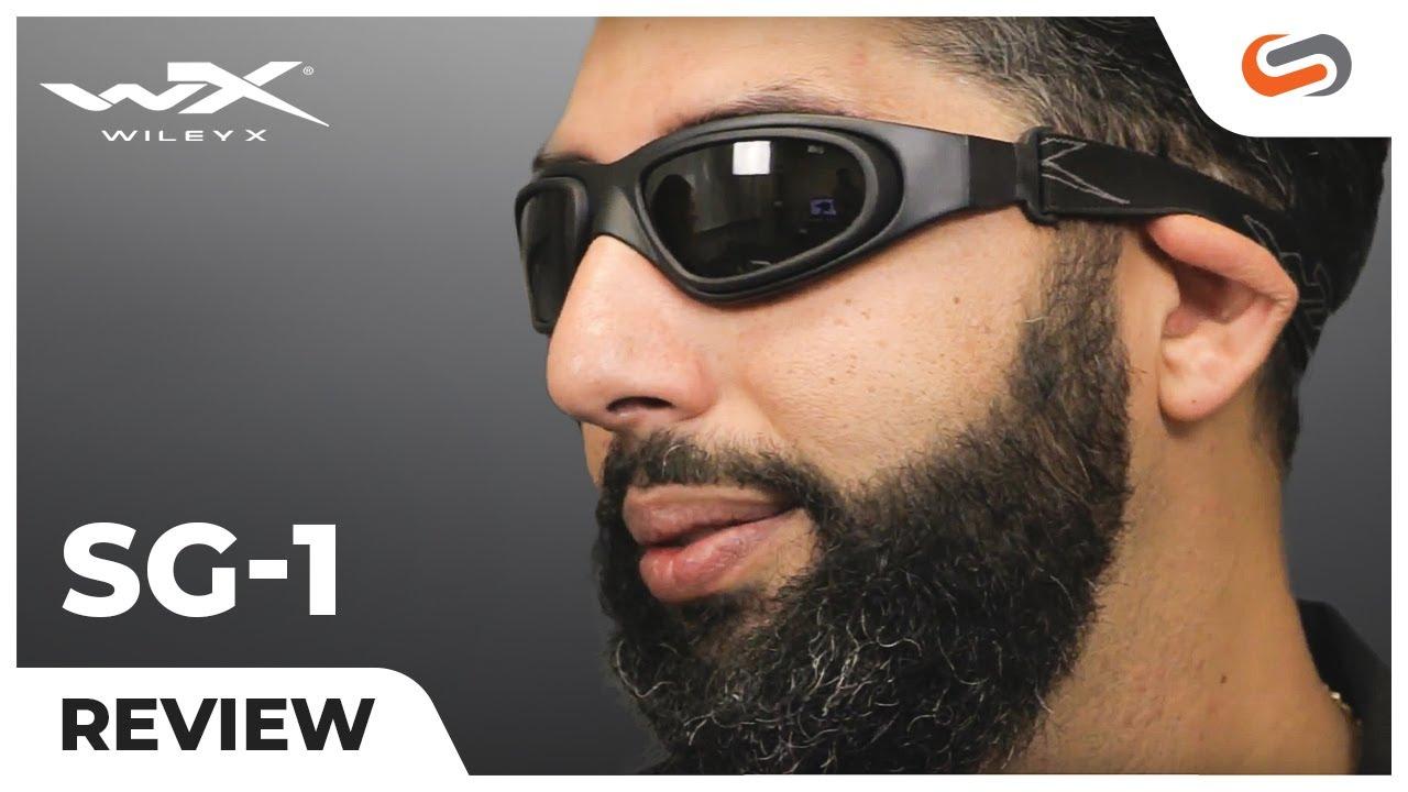 c6b06238d95b Wiley X SG-1 Tactical Goggles | SportRx.com - YouTube