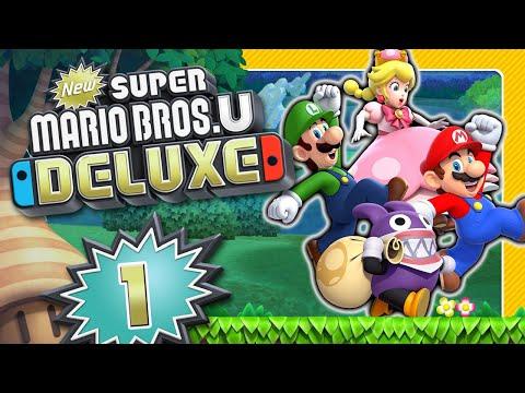 NEW SUPER MARIO BROS. U DELUXE 🌰 #1: 2D-Mario springt von WiiU auf Nintendo Switch!