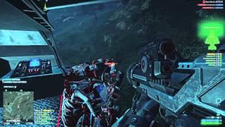 Planetside 2 - Valkyrie - Striker rumble seat adventures