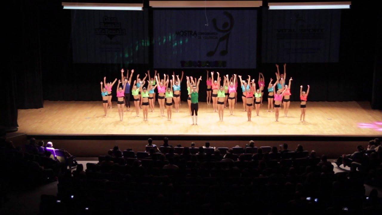 Mostra coreogr fica 2015 gimnasio studio navarrete de - Gimnasio paredes ...