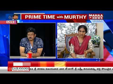 #RamGopalVarma counter to Social Activist Devi   #RGV  #GST #PrimeTimeWithMurthy