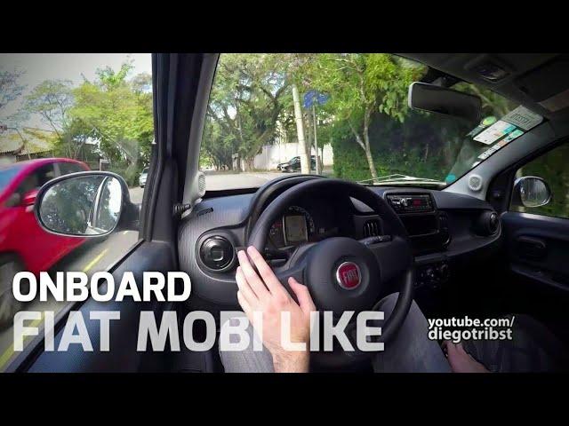 Fiat Mobi Like 1.0 Fire Evo | Onboard