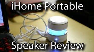 iHome Portable Speaker Review - Sound Quality Test - iHM61 IHM60L iHM60GT iHM60
