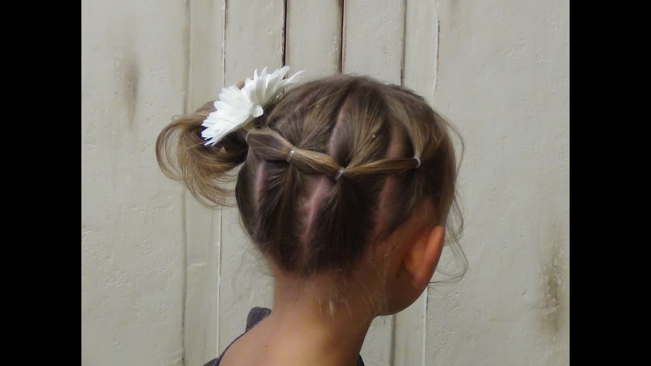 Side French Braid Ponytail Hairstyles Youtube