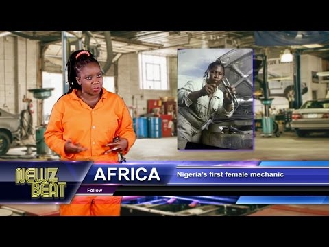 AFRICA: Nigeria's first female mechanic (S4 episode 2 NewzBeat Uganda)